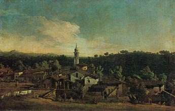 Bellotto Painting