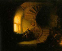 Detail from Rembrandt